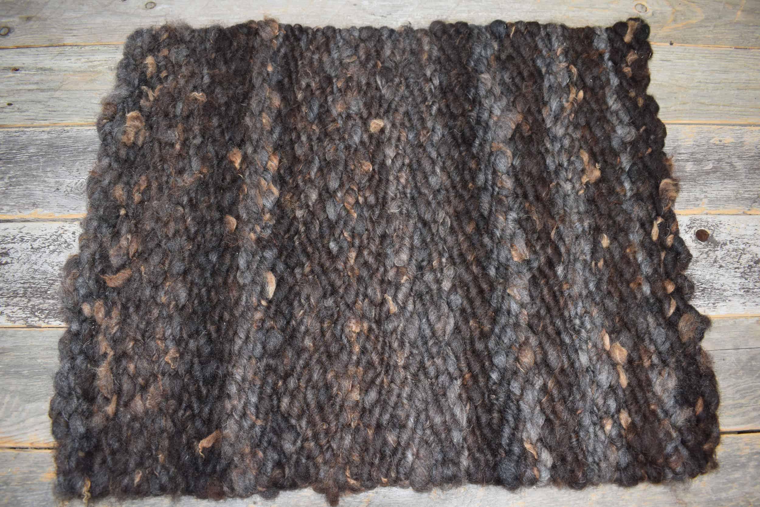 patchwork sheep handmade pegloom wool rug taragon