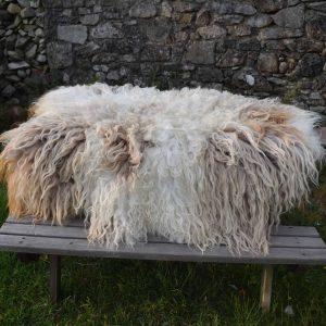 dandelion felted fleece rug