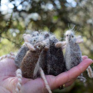 wool mice