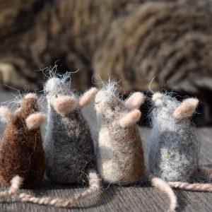 little woollen mouse mice