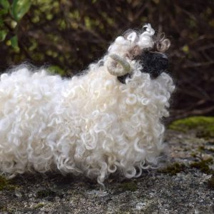 felted wool valais blacknose