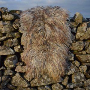 felted sheepskin rug