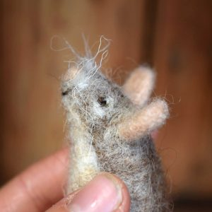 cute wool mouse