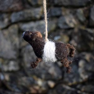 belted galloway gift decoration