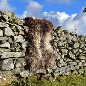 felted fleece sheepskin