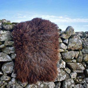 felted fleece sheepskin rug