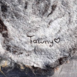 felted fleece tawny