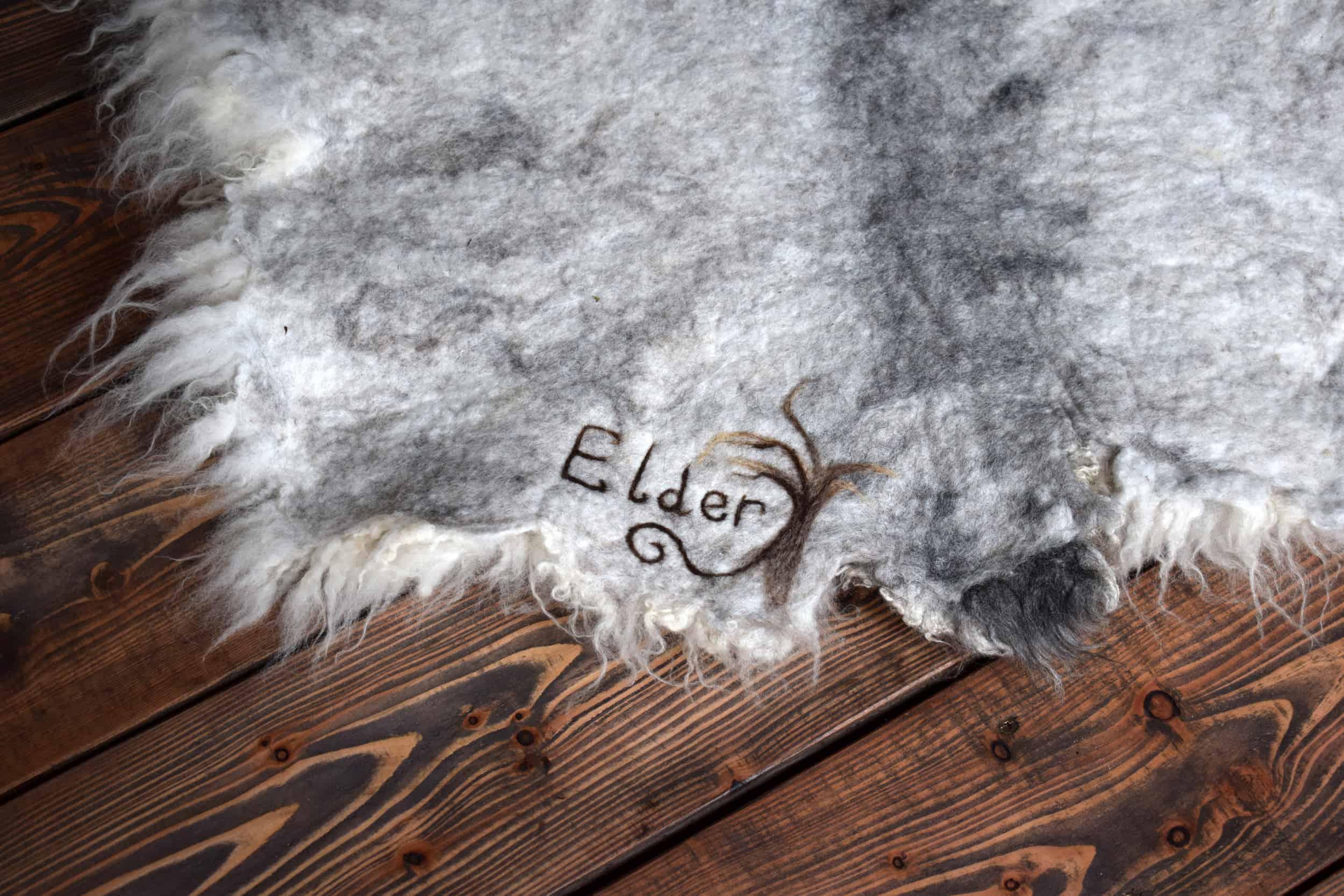 elder felted fleece