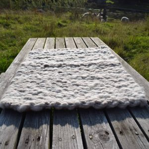 torddu welsh wool rug