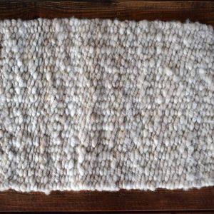 handmade peg loom wool rug