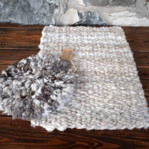 pegloom weaving rug seat covers