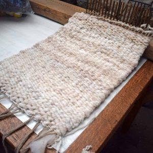 peg loom weaving